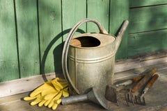 园艺工具 免版税库存图片