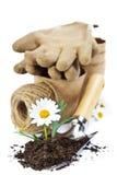 园艺工具 免版税图库摄影