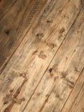 困厄的木材地板 库存照片