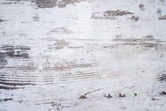 困厄的白色木背景纹理 图库摄影