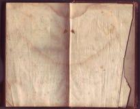 困厄的老纸张 免版税库存图片