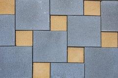 困厄老砖墙纹理,地垫 有几何样式的锦砖 免版税库存图片