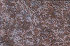 困厄镶板被毁坏的金属铁 背景铜3D r 免版税库存图片