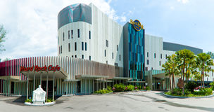 困难旅馆槟榔岛岩石 免版税库存图片
