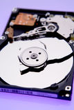 困难残破的磁盘驱动器 免版税库存照片