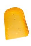 困难的干酪半 免版税库存图片