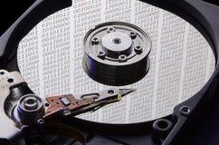 困难的磁盘驱动器 图库摄影