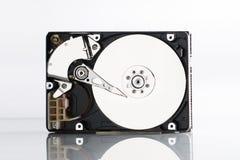 困难计算机的盘 免版税库存照片