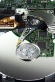 困难计算机的驱动器 免版税库存图片