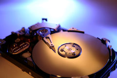 困难计算机的驱动器 免版税图库摄影