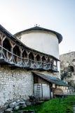 围场古老城堡在乌克兰 免版税图库摄影