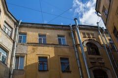 围场结构形状在圣彼德堡,俄罗斯 结构 图库摄影