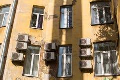 围场结构形状在圣彼德堡 免版税图库摄影