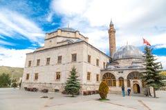 围场Evliya清真寺和Ebul哈桑坟茔 免版税库存照片