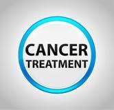 围绕蓝色按钮的癌症治疗 皇族释放例证