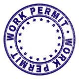 围绕邮票封印的难看的东西织地不很细工作许可 向量例证