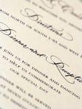 固定式婚礼 免版税库存图片