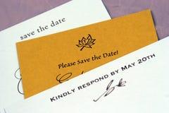 固定式婚礼 库存图片