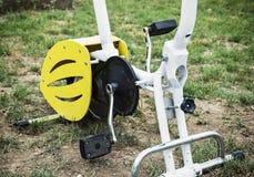 固定式的自行车 免版税库存图片