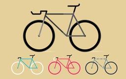 固定的齿轮自行车 库存照片