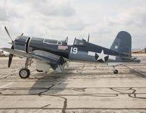 1945年固特异FG-1D海盗 库存图片