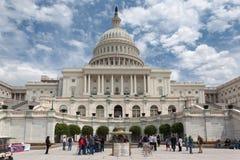 国会华盛顿 图库摄影