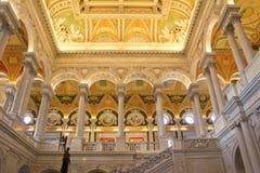 国会图书馆 免版税库存图片