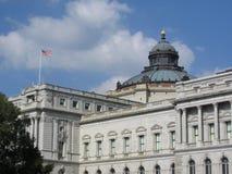 国会图书馆 免版税图库摄影