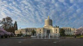 国会大厦俄勒冈状态 免版税库存图片