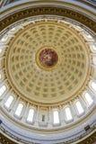 国会大厦修造的内部在麦迪逊,威斯康辛 免版税库存照片