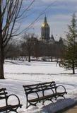 国会大厦公园 免版税库存照片