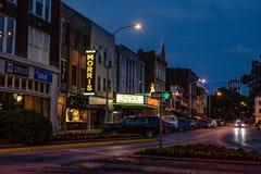 国会大厦剧院在街市Bowling Green 免版税图库摄影