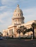 国会大厦古巴哈瓦那 免版税图库摄影