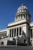 国会大厦古巴哈瓦那 库存照片