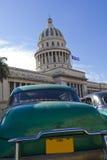 国会大厦古巴哈瓦那 免版税库存照片