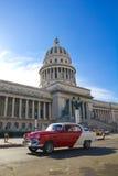 国会大厦古巴哈瓦那 免版税库存图片