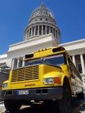国会大厦哈瓦那古巴 库存图片