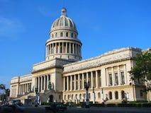 国会大厦哈瓦那 库存照片