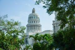 国会大厦哈瓦那 免版税库存照片