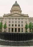 国会大厦喷泉状态犹他 库存图片
