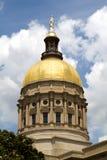 国会大厦圆顶佐治亚 库存照片