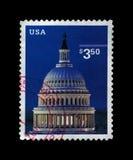 国会大厦圆顶,美国,大约2001年, 库存图片