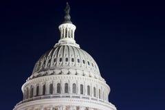 国会大厦圆顶细节 免版税库存图片