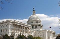 国会大厦圆顶 免版税库存图片