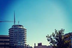 国会大厦在一个晴天记录大厦 免版税库存图片
