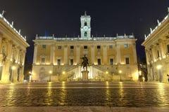 国会大厦在罗马 免版税库存照片