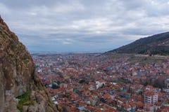 国会大厦城市克罗地亚全景萨格勒布 图库摄影