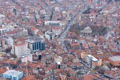 国会大厦城市克罗地亚全景萨格勒布 库存照片