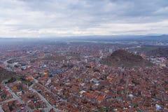 国会大厦城市克罗地亚全景萨格勒布 免版税图库摄影