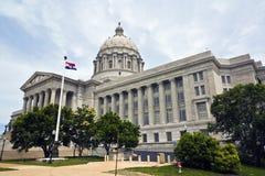 国会大厦城市杰斐逊・密苏里状态 免版税图库摄影